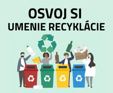 Osvoj si umenie recyklácie odpadu