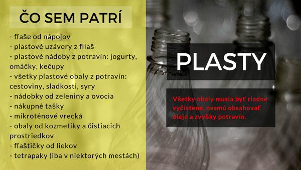 Triedenie plastov, ako ich správne separovať?