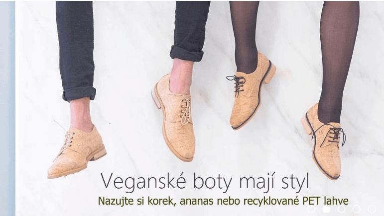 najlepšie eshopy - vegánske topánky - Etik Butik