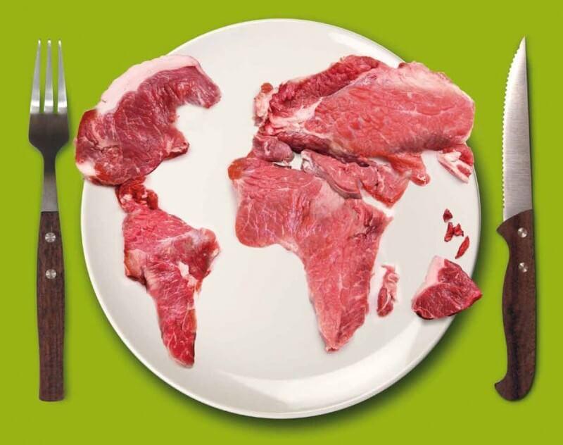 Výroba a konzumácia mäsa má veľký dopad na našu planétu