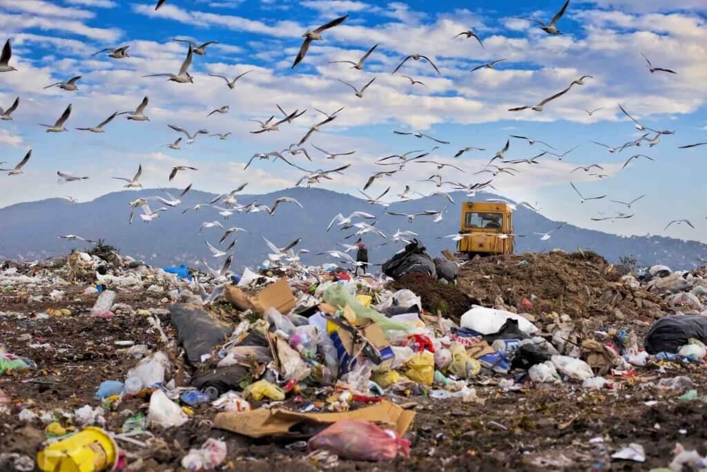 Skládka je jedným z príčin znečistenia pôdy