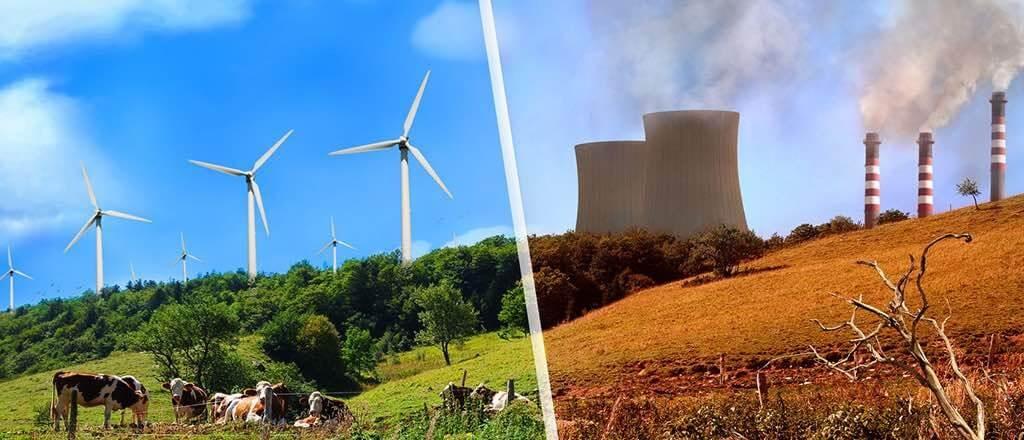 obnoviteľné vs. neobnoviteľné zdroje energie