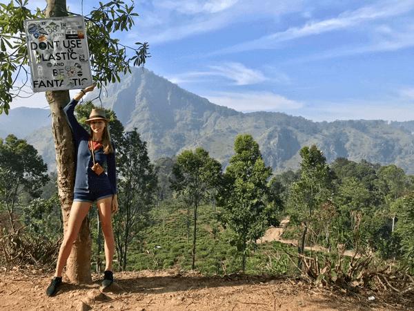 Adam's Peak, Srí Lanka.