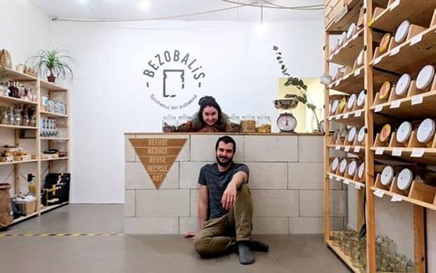 Bezobalový obchod Trenčín - Bezobalis - zero waste