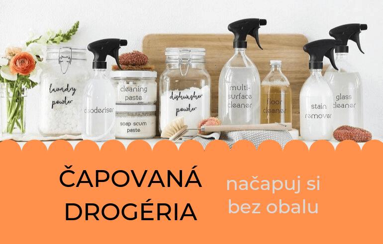 Všetky čapované drogérie na Slovensku