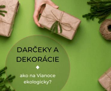 vianočné dekorácie a ekologické darčeky 2