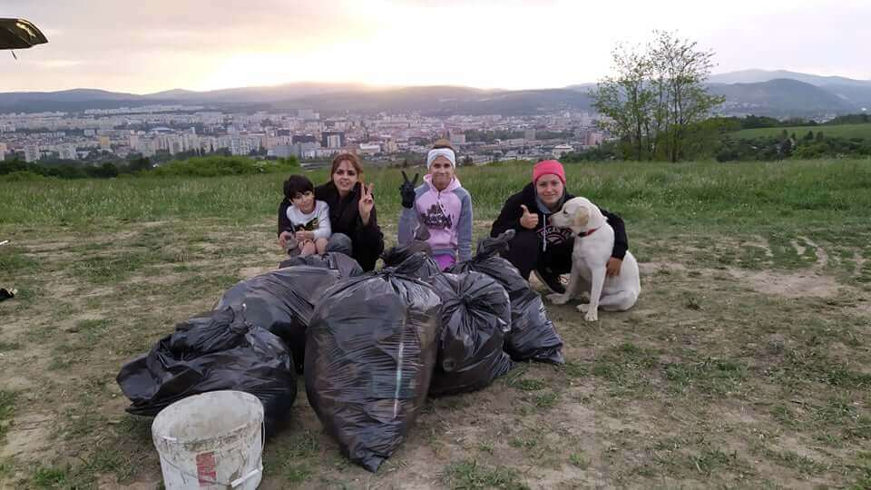 zbieranie odpadkov s priateľmi Košice