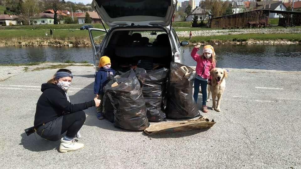 zbieranie odpadkov Košice