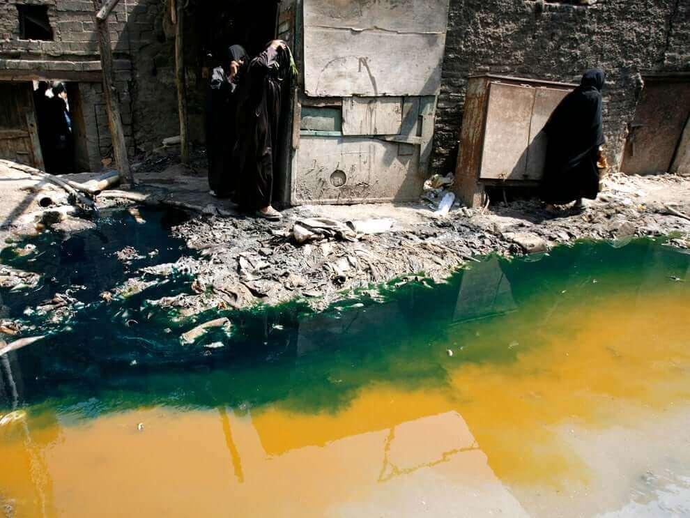 znecistenie vody textilny priemysel