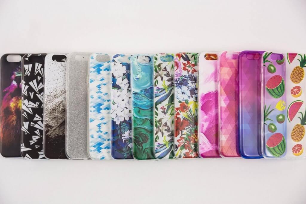 plastové obaly na mobil